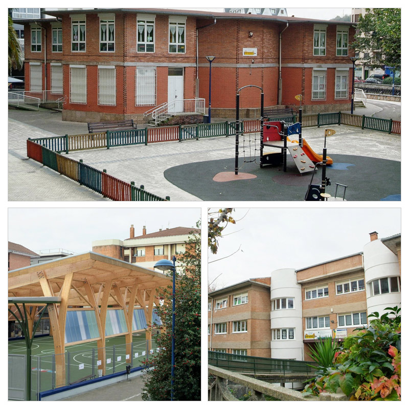 Egungo eskola / Escuela actual
